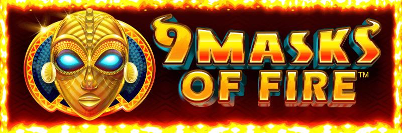 Ruby Fortune Casino: Syksyn kuumin uutuus: 9 Masks of Fire